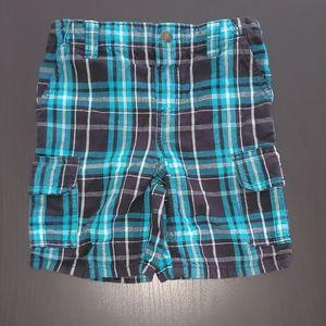Kids Plaid Shorts